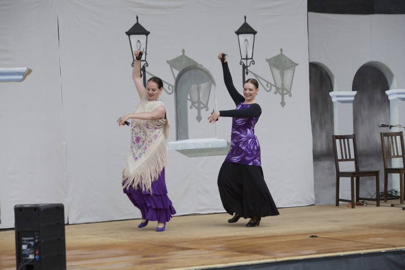Peña Flamenca - Photo credit: Jason King