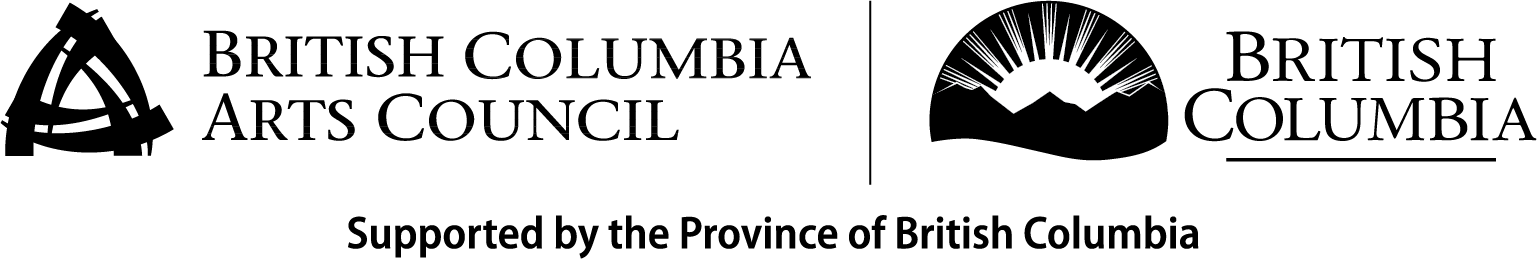 Province of British Columbia and the BC Arts Council